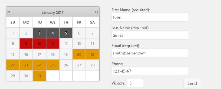 Booking Calendar - Plugin tạo lịch cho WordPress