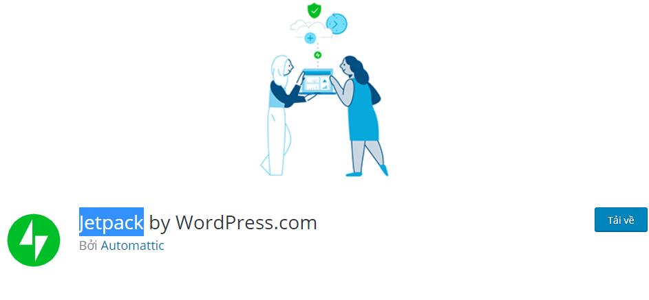 Jetpack - plugin bảo mật WordPress