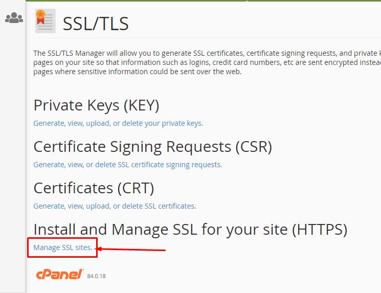 Manage SSL sites - cài đặt SSL Cloudflare cho WordPress