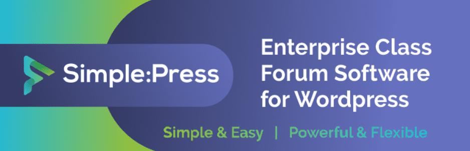 Simple:Press - tạo diễn đàn bằng WordPress