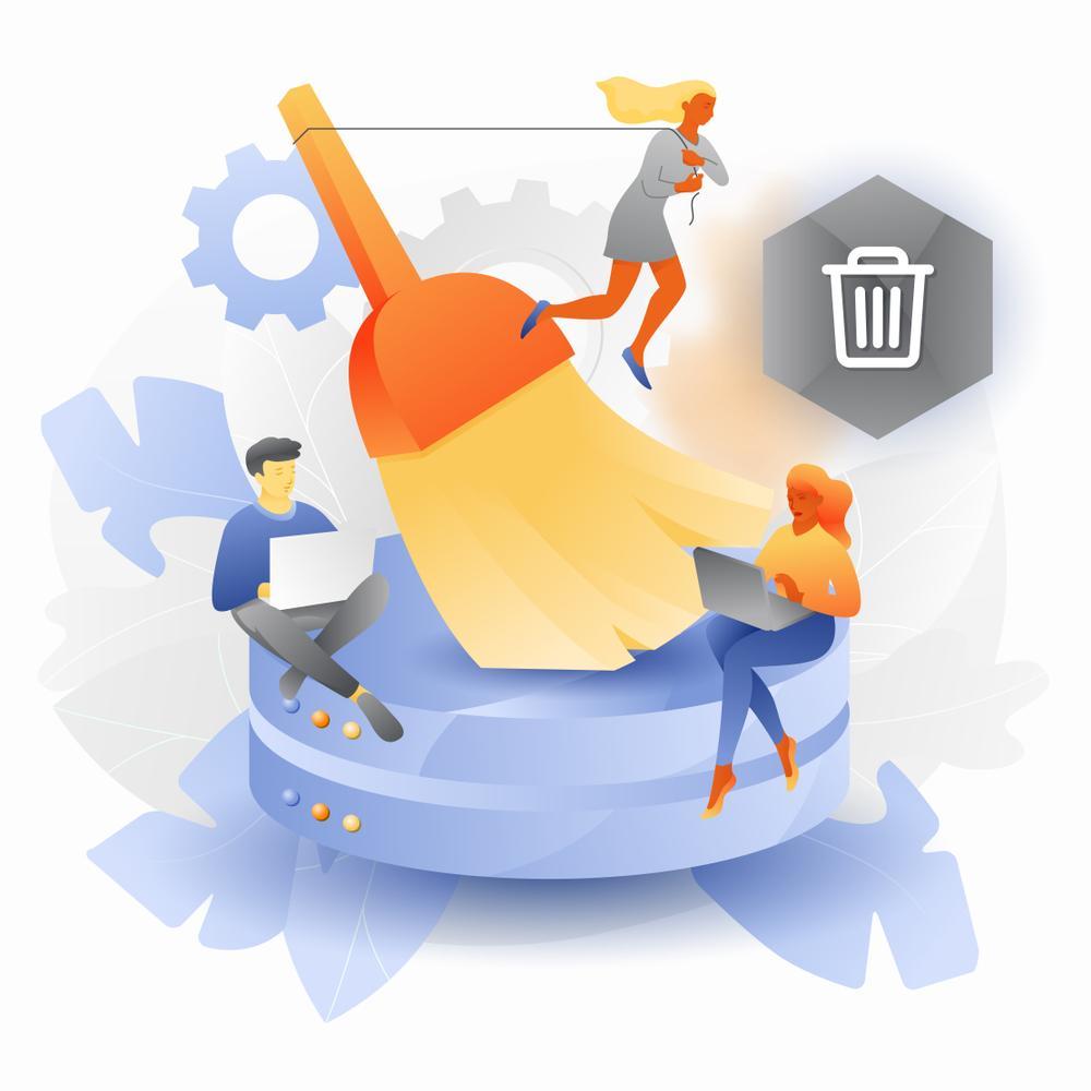 clean database