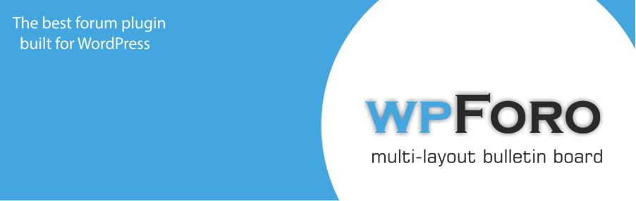 wpForo Forum - tạo diễn đàn bằng WordPress