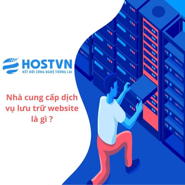 dịch vụ lưu trữ website là gì