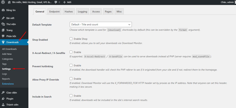 download monitor settings