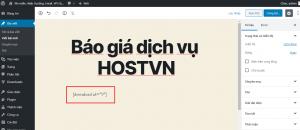 tạo trang download cho WordPress