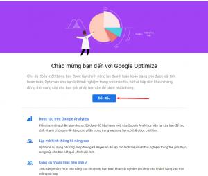 Google Optimize start - add Google Optimize to WordPress