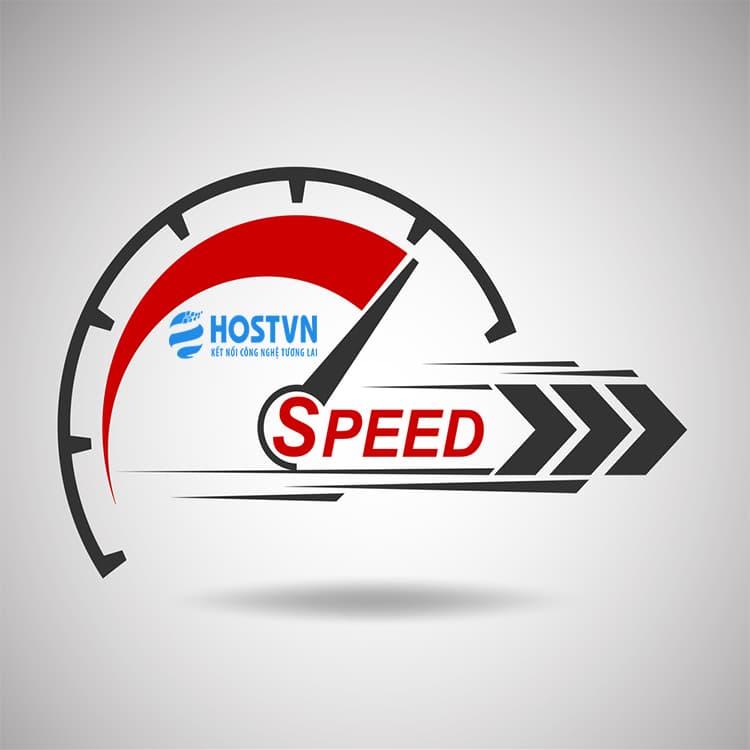 tốc độ - lựa chọn WordPress Hosting