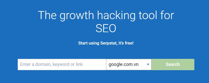 SERPStat - nghiên cứu từ khóa