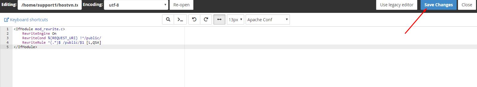 Screenshot_104 - upload Laravel lên hosting cPanel