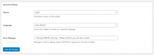 General Settings - limiting WordPress registration spam