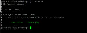 Screenshot_13 - cài đặt Git trên CentOS