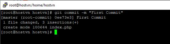 Screenshot_15 - cài đặt Git trên CentOS