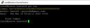 Screenshot_16 - cài đặt Git trên CentOS