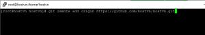Screenshot_17 - cài đặt Git trên CentOS