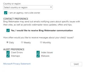 Screenshot_18 - thêm website vào Bing Webmaster Tools