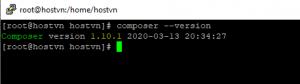cài đặt Composer trên CentOS
