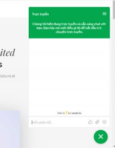 Live Chat cho WordPress