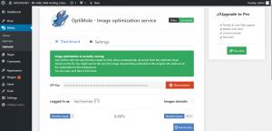OptiMole - Image optimization service Status