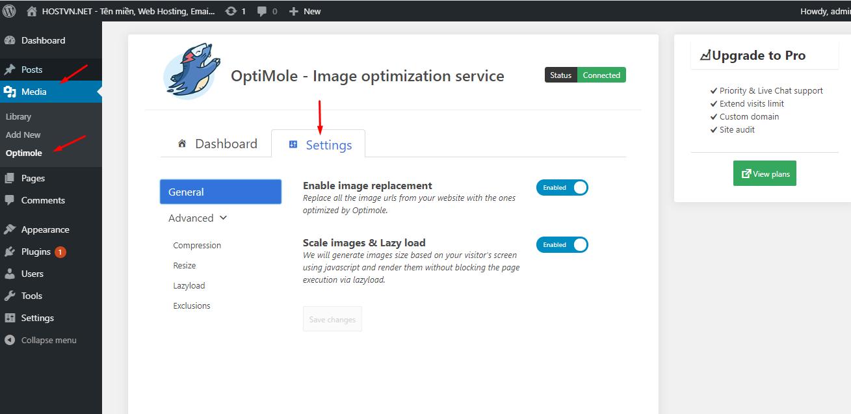 tối ưu hình ảnh cho WordPress