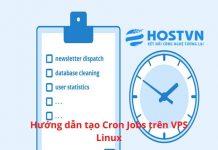 tạo Cron Jobs trên VPS Linux