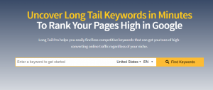 longtailpro - keyword research
