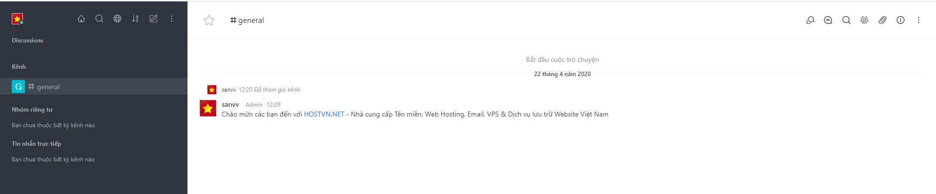 Screenshot_20 - cài đặt Rocket.Chat trên Ubuntu