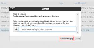 Screenshot_22 - cập nhật theme cho WordPress