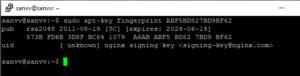 Screenshot_3 - installing LEMP on Ubuntu 18