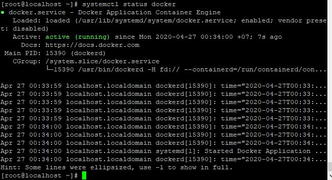 Screenshot_53 - cài đặt Docker trên CentOS 7