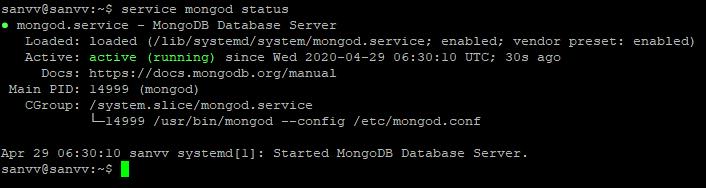Screenshot_9 - cài đặt MongoDB trên Ubuntu 18