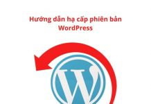 downgrade-wordpress-version