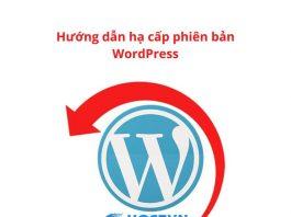 downgrade-wordpress-version