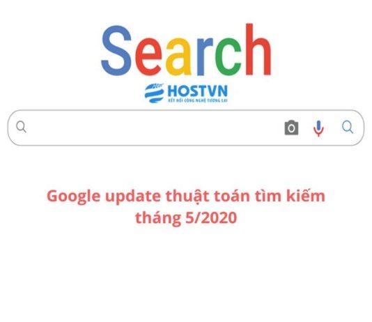 Google update thuật toán