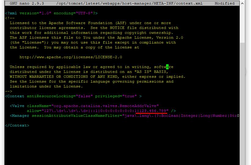 Screenshot_11 - cài đặt Tomcat 8 trên Ubuntu 18