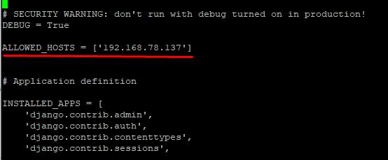 Screenshot_11 - cài đặt Django trên CentOS 7