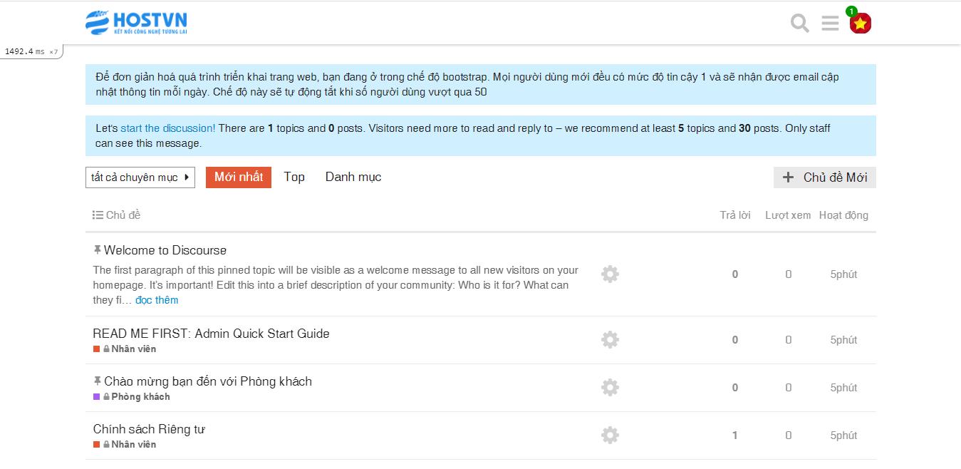 Screenshot_113 - cài đặt Discourse trên CentOS 7