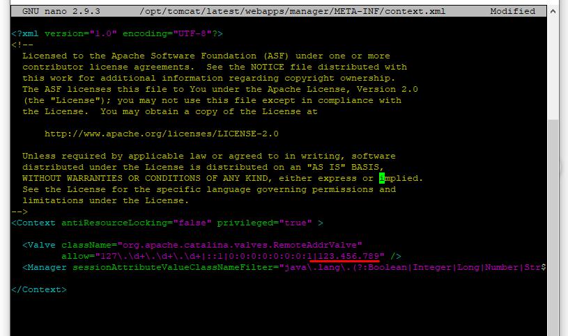Screenshot_12 - cài đặt Tomcat 8 trên Ubuntu 18