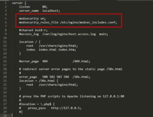 Screenshot_132 - Cài đặt ModSecurity với Nginx