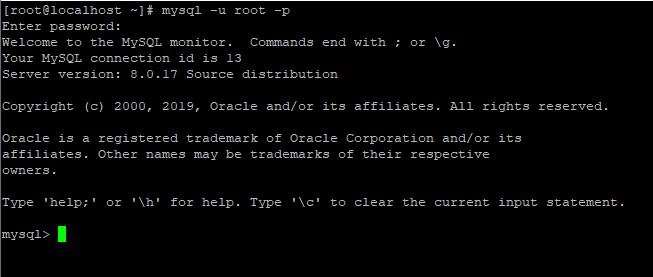 Screenshot_163 - cài đặt MySQL trên CentOS 8