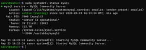 Screenshot_19 - cài đặt Mysql trên Ubuntu 20