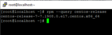 Screenshot_39 - kiểm tra phiên bản CentOS