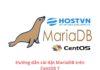 cài đặt MariaDB trên CentOS