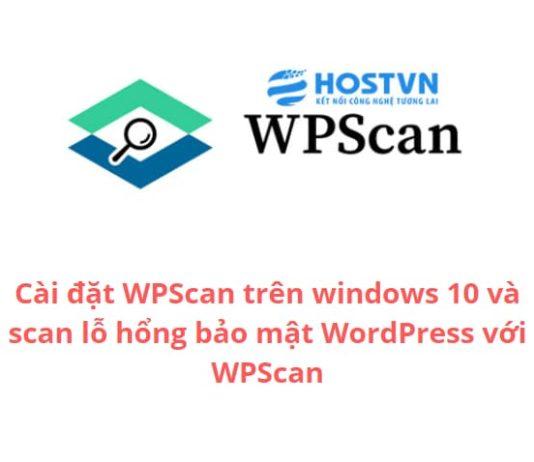 install-wpscan-on-window-10