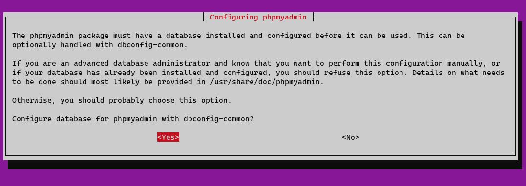Screenshot_137 - phpMyAdmin với Apache trên Ubuntu