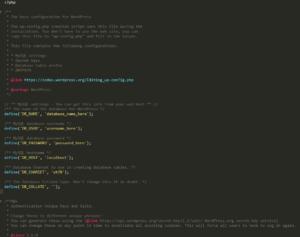 Screenshot_16 - wp-config.php trong wordpress