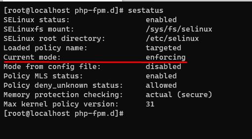 Screenshot_20 - vô hiệu hoá SELinux trên CentOS 8