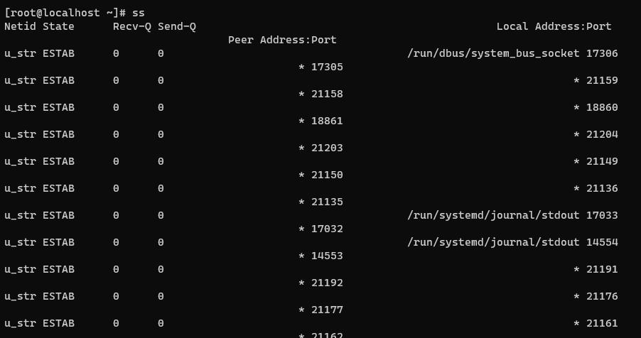 Screenshot_7 - kiểm tra các cổng đang mở trong Linux