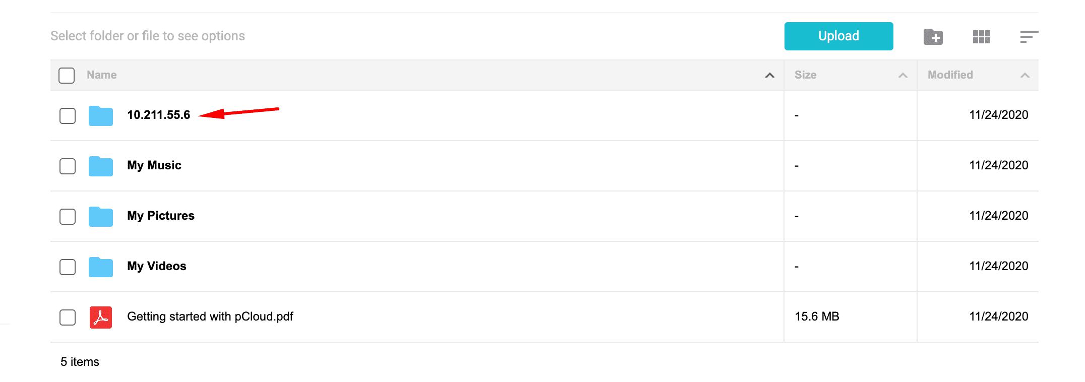 pcloud file manager - cấu hình backup VPS lên pCloud với Rclone