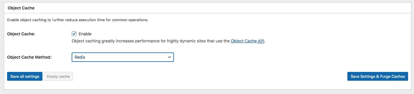 redis ObjectCache