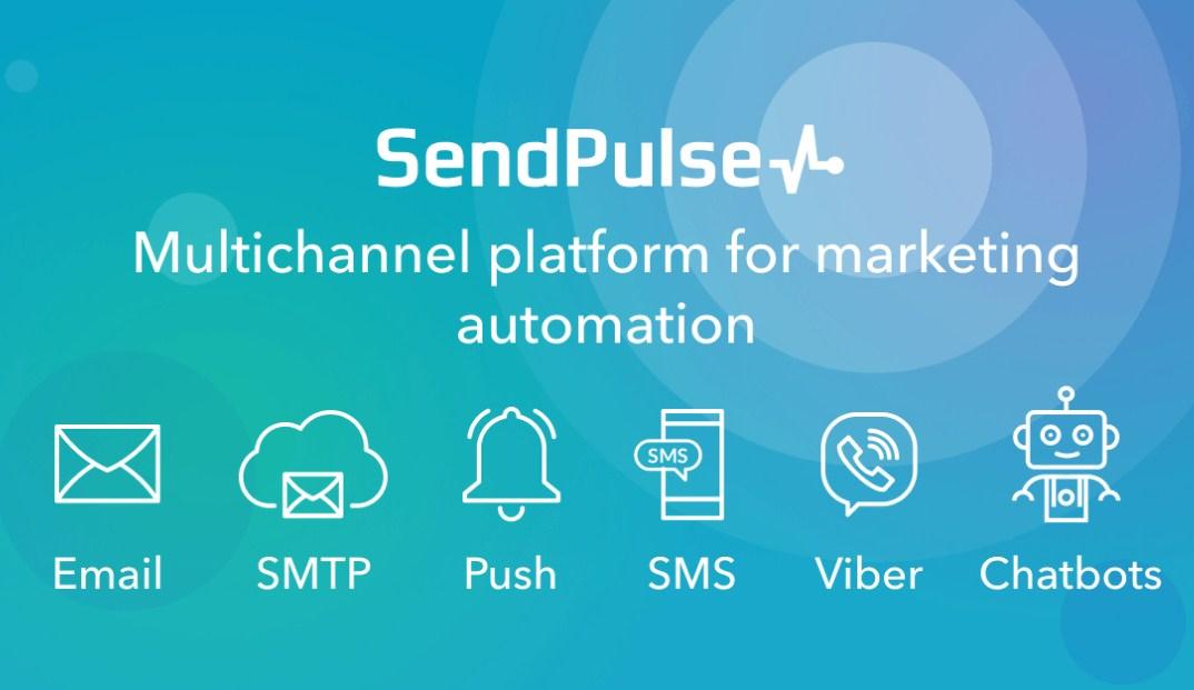 SendPulse được ưa chuộng với đa dạng các chức năng được tích hợp trong phần mềm